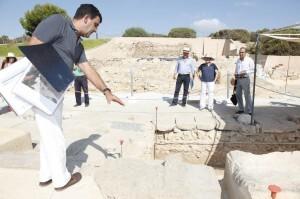 080714 visita excavaciones lucentum 2