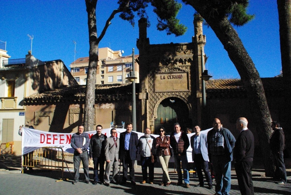 140802 Concentración de Vicent sarrià con vecinos y entidades en noviembre 2013