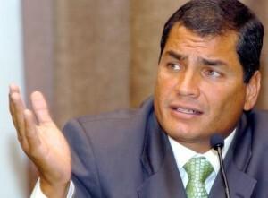 ECUADOR ELECTIONS RESULTS - RAFAEL CORREA
