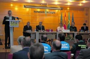 Acto de presentación de la Asociación de Vigilantes de Seguridad Privada (Avispa). fernando rodríguez