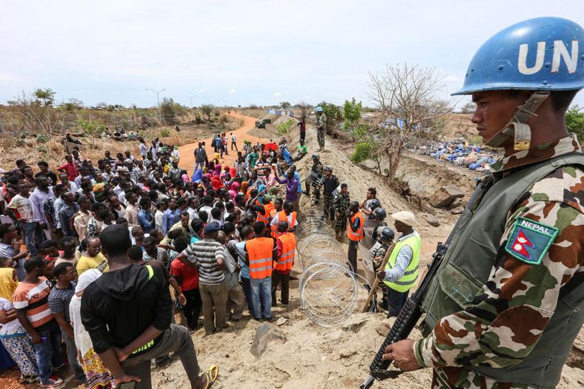 Protección de desplazados en Sudán del Sur Foto: ONU/saac Billy