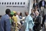 La delegación del Consejo de Seguridad de la ONU llega Mogadishu, la capital de Somalia Foto: ONU/ Tobin Jones