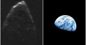 El asteroide 1950 DA amenaza a la Tierra. (NASA)