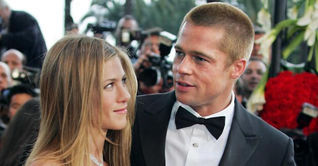 Brad Pitt aún no olvida a Jennifer Aniston, aseguran. (galleryhip)