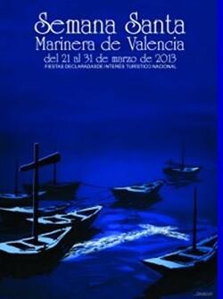 Cartel 2013 SEMANA-SANTA-MARINERA_VALENCIA
