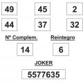Combinación ganadora de lotería primitiva de fecha 2 de agosto de 2014.   COMBINACION_GANADORA_LOTERIA_PRIMITIVA_DEL_SABADO _2_8_14