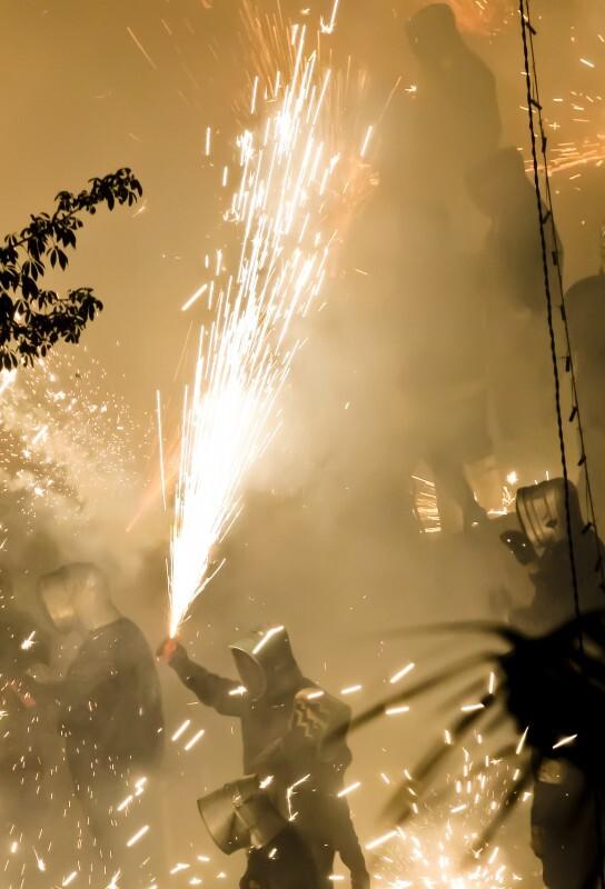 Foto de la celebración de la Cordà en años anteriores