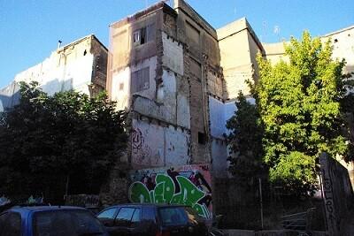 Fotografia degradacion barrio Xerea