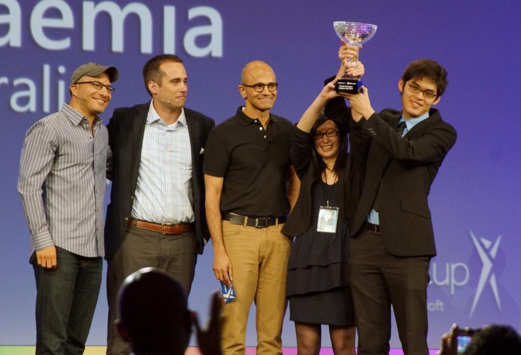 Imagine Cup 2014 ya tiene ganador, el equipo Eyenaemia, de Australia