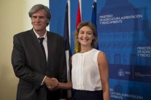 Isabel García Tejerina y Stéphane Le Foll 1_tcm7-341753_noticia