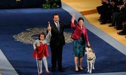 La ONCE, Premio Príncipe de Asturias de la Concordia 2013, recogiendo el diploma ©FPA
