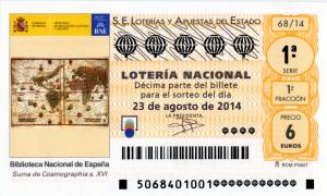 Lotería Nacional 22