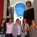 Montero durante su visita all Museu Valencia de la Festa dAlgemesi