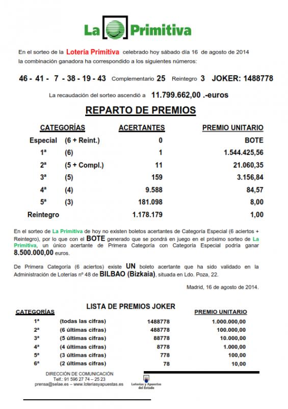 NOTA_DE_PRENSA_DE_LA_PRIMITIVA_DEL SABADO _16_8_14_001