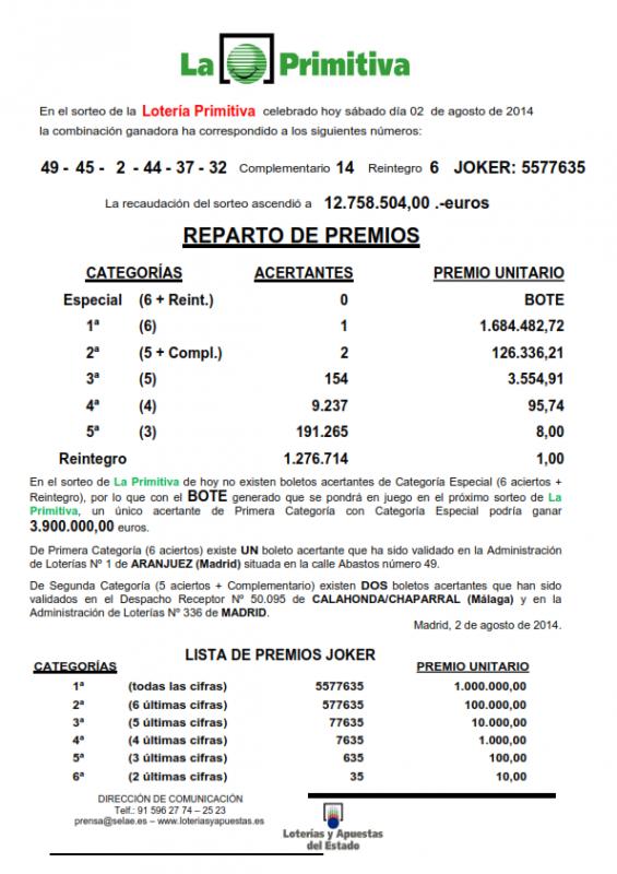 NOTA_DE_PRENSA_DE_LA_PRIMITIVA_DEL SABADO _2_8_14_001