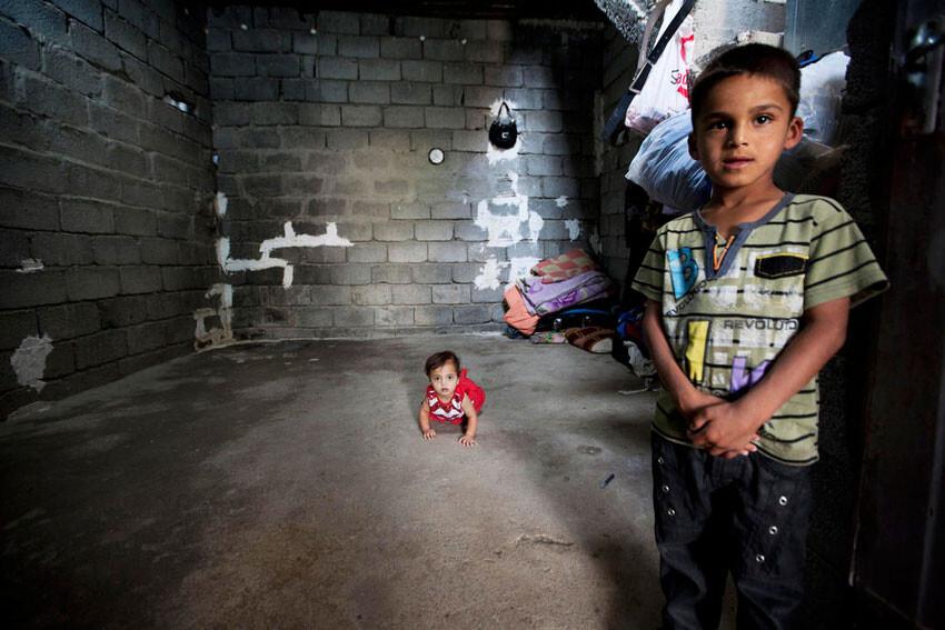 Niños iraquies afectados por el conflicto Foto: ONU/Bikem Ekberzade