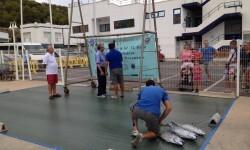 Concurso de Pesca en el Club Náutico de Oropesa. Foto de archivo.