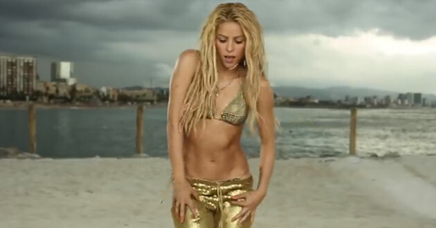 """Juez dijo que """"Loca"""", de Shakira, es una copia. (YouTube)"""
