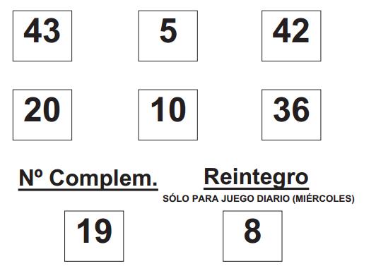 Sorteo de la  BonoLoto celebrado hoy miércoles día 06 de agosto de 2014   COMBINACION_GANADORA_DE_BONO_LOTO_DÍA_6_8_14