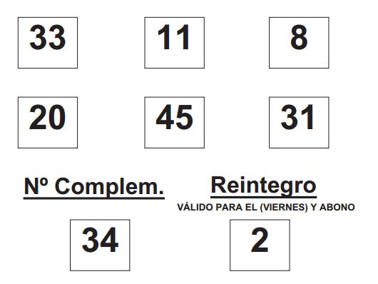 Sorteo de la BonoLoto celebrado hoy viernes día 01 de agosto de 2014  COMBINACION_GANADORA_DE_BONO_LOTO_DÍA_1_8_14