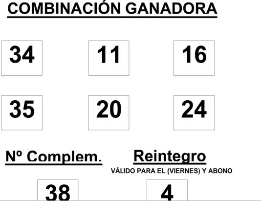 Sorteo de la  BonoLoto celebrado hoy viernes día 15 de agosto de 2014    COMBINACION_GANADORA_DE_BONO_LOTO_DÍA_15_8_14
