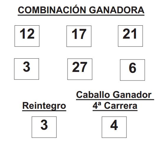 Sorteo de la Lototurf celebrado hoy lunes día 04 de agosto de 2014  COMBINACION_GANADORA_LOTOTURF_4_8_14.pdf