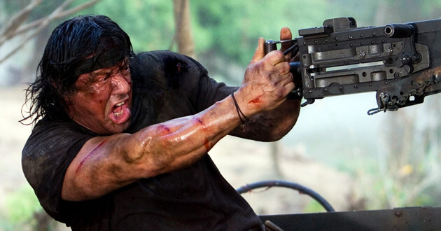 "Stallone promociona ""Los indestructibles 3"". (sylvesterstallone.com)"