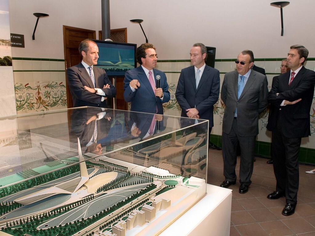 Presentación maqueta del Centro de Convenciones de Castellón 29 05 2008
