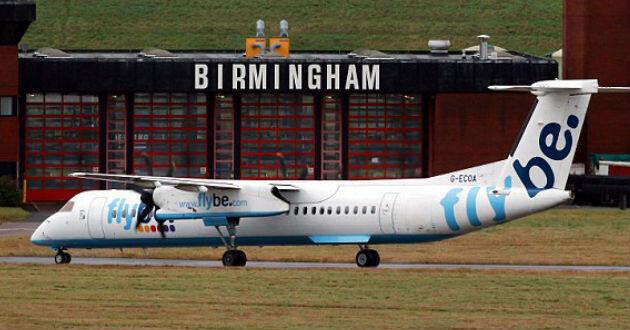 El avión viajaba de Birmingham a Belfast. Foto: Daily Mail