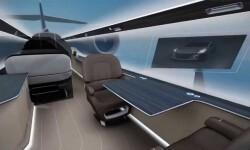 El avión sin paredes ni techo; es invisible
