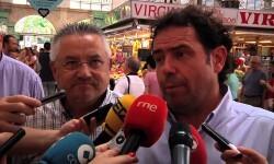 FRANCISCO DASI Presidente Asociación de Vendedores del Mercado Central