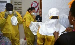 Centro médico de Monrovia, Liberia/ Foto: AFP