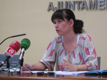 concejala del grupo municipal de Esquerra Unida, Rosa Albert