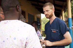 Kent Brantly, uno de los dos norteamericanos infectados por el virus del Ébola Foto: EFE