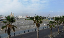 nueva zona parking Marina norte