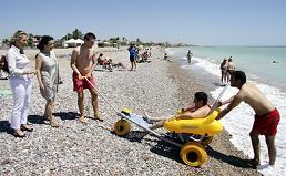 playa y acceso discapacitados