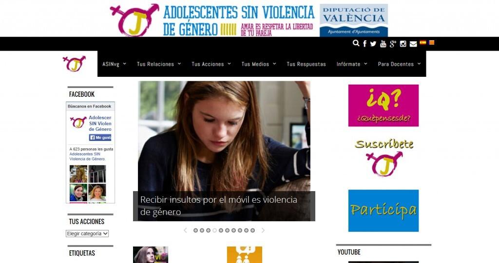 sin violencia adolescente_0