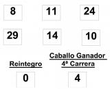 sorteo de la  Lototurf celebrado hoy jueves día 21 de agosto de 2014  COMBINACION_GANADORA_LOTOTURF_21_8_14.pdf