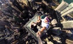 Vídeo: La selfie más arriesgada del mundo