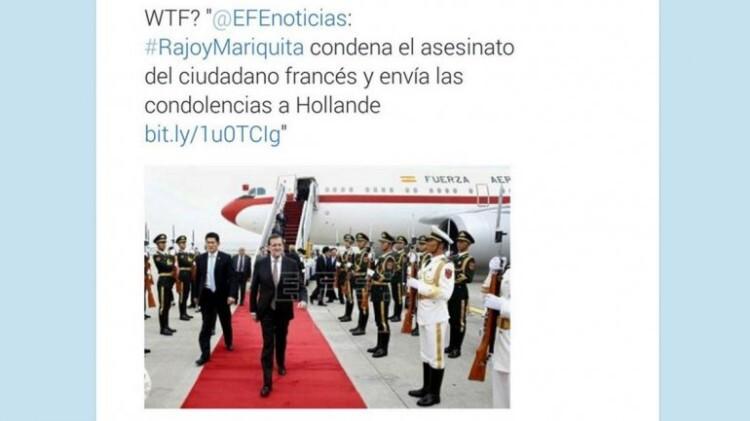 Rajoy mariquita