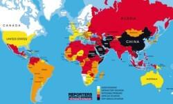 los países con mayor y menor libertad de prensa