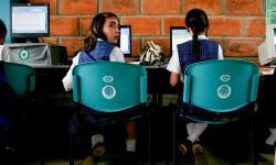 Clase computación en Colombia Foto:Banco Mundial/Charlotte Kesl