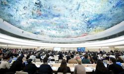 El Consejo de Derechos Humanos en Ginebra, Suiza Foto: Photo/Jean-Marc Ferré