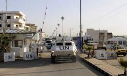 Efectivos de la UNDOF en los Altos del Golán Foto. UNDOF