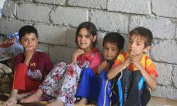 Niños refugiados a causa de la ofensiva del grupo terrorista ISIL en el norte de Iraq Foto:Iraqi Red Crescent/UNOCHA