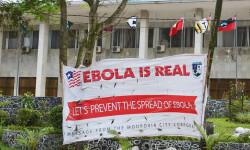 Un cartel en Monrovia, Liberia Foto. UNMIL
