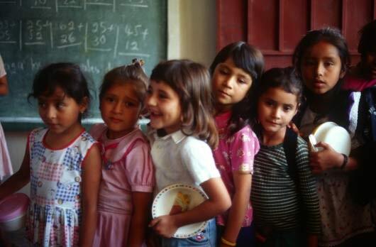 Escolares en Honduras Foto: FAO/Guiseppe Bizzaro