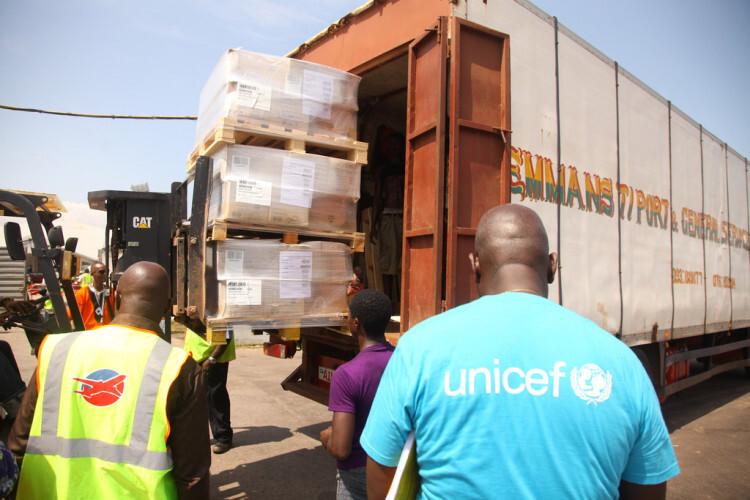 UNICEF envia ayuda a Sierra Leona, con apoyo financiero del Banco Mundial Foto:Banco Mundial/Francis Ato Brown