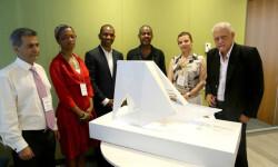 """""""El Arca del Retorno, diseño del monumento que honrará a las victimas de la esclavitud Foto. DPI"""