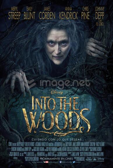 Nuevo póster de la película de Disney INTO THE WOODS.